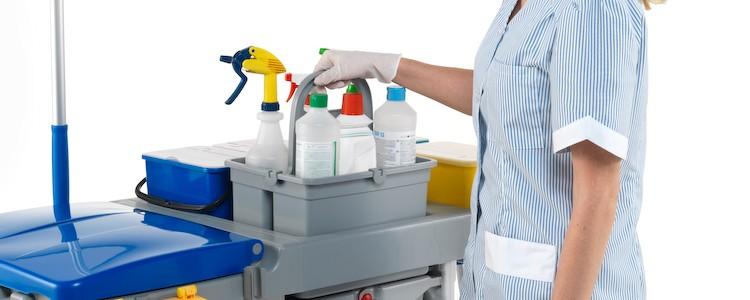 Профессиональные моющие средства для уборки